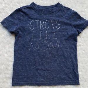 Strong like MOM tee 🦸♀️